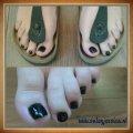 Gel polish op de tenen