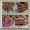 Acryl nagels Frensh manicure
